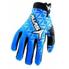 Moto rukavice ALIAS MX AKA modré