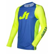 Dres JUST1 J-FLEX ARIA modro/neonově žlutý