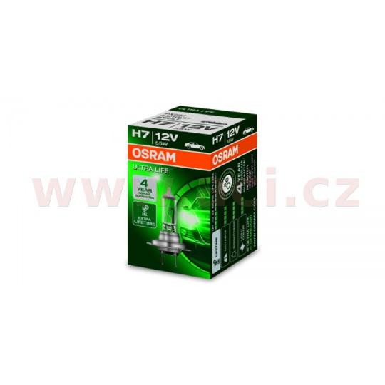 žárovka H7 12V 55W (patice PX26d) OSRAM ULTRA LIFE