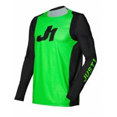 Dres JUST1 J-FLEX ARIA neonově zeleno/černý
