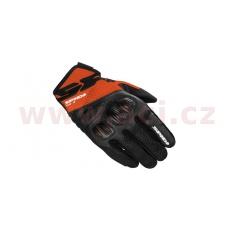 rukavice FLASH R EVO, SPIDI (černé/oranžové)