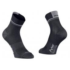 Pánské ponožky Northwave Logo 2 ocks Black/Grey