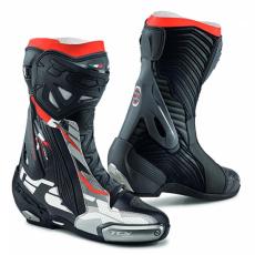 Moto boty TCX RT-RACE PRO AIR černo/šedo/červené