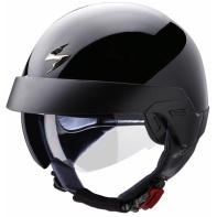 Moto přilba SCORPION EXO-100 solid černá