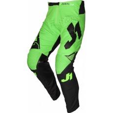 Dětské moto kalhoty JUST1 J-FLEX ARIA černo/neonově zelené