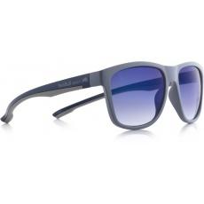 sluneční brýle RED BULL SPECT Sun glasses, BUBBLE-002, grey, grey, smoke gradient with blue flash, 54-17-145