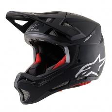 Alpinestars Missile TECH Solid MIPS helma - Black Matt