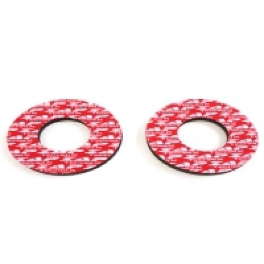 Donuts/ochranné kroužky na rukojeti červené