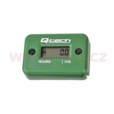 měřič motohodin, Q-TECH (zelený)