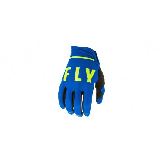 rukavice LITE 2020, FLY RACING (modrá/černá/hi-vis)