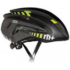 helma RH+ Z Alpha, shiny black/matt black/yellow fluo