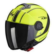 Moto přilba SCORPION EXO-CITY SCOOT neonově žluto/černá