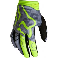 Dětské MX rukavice Fox Yth Girls 180 Skew Glove Fluo Yellow