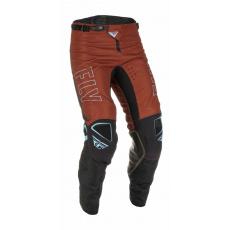 kalhoty KINETIC FUEL, FLY RACING - USA 2022 (rezavá/černá)