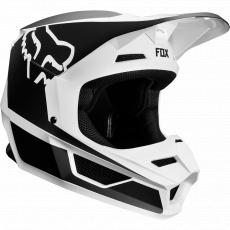 Pánská MX helma FOX V1 Przm helmet black/white