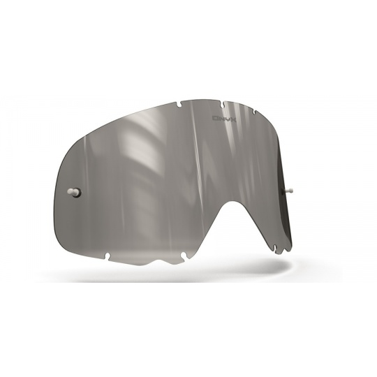 plexi pro brýle OAKLEY CROWBAR, ONYX LENSES (šedé s polarizací)