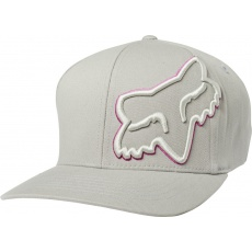 Pánská čepice Fox Episcope Flexfit Hat Grey/Pink