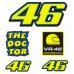 Samolepky Valentino Rossi VR46 malé VRUSTPAT703