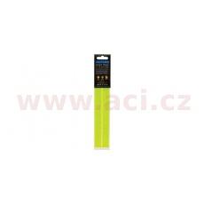 reflexní pásky Bright Strips, OXFORD (žlutá fluo, 21 x 217 mm, pár)