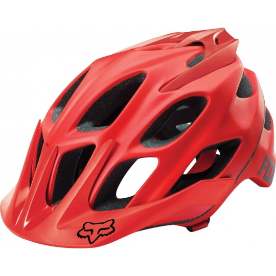 Cyklo helma Fox Flux Solid Helmet Red
