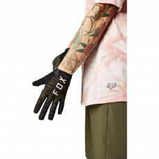Dámské rukavice Fox W Ranger Glove Gel Olive Green