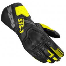 rukavice STS-3, SPIDI (černá/žlutá fluo)