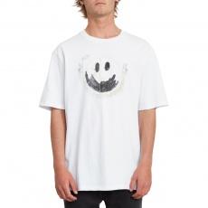 Pánské triko Volcom Fake Smile Bxy Ss White