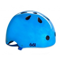 661 Dirt Lid PLUS - Blue mettalic helma