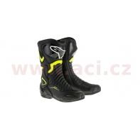 boty S-MX 6, ALPINESTARS - Itálie (černé/žluté fluo)