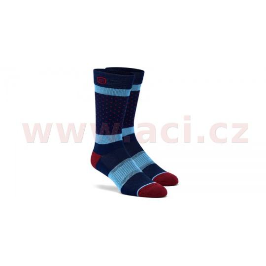 ponožky OPPOSITION, 100% (modré)