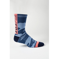 "Cyklo ponožky Fox 6"" Ranger Sock Blue Camo"