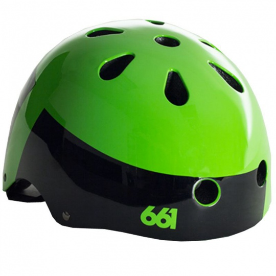 661 Dirt Lid - XV Lime Green helma
