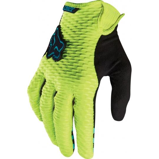 Dámské rukavice Fox Racing Womens Lynx Glove Flo Yellow