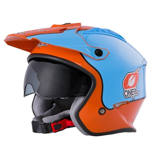 Přilba O´Neal Volt GULF modrá/oranžová