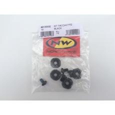 Náhradní kolíky Northwave Kit Tacchetto (PACK OF 4 PCS) Black