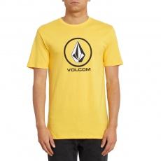 Pánské triko Volcom Crisp Stone Bsc Ss Citrus Gold
