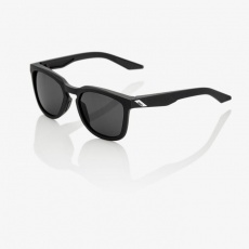 Hudson - Soft Tact Black - Smoke Lens