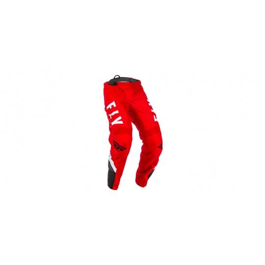 kalhoty F-16 2020, FLY RACING (červená/černá/bílá)