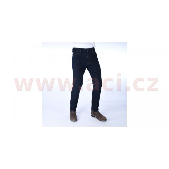 PRODLOUŽENÉ kalhoty Original Approved Jeans Slim fit, OXFORD, pánské (modrá)