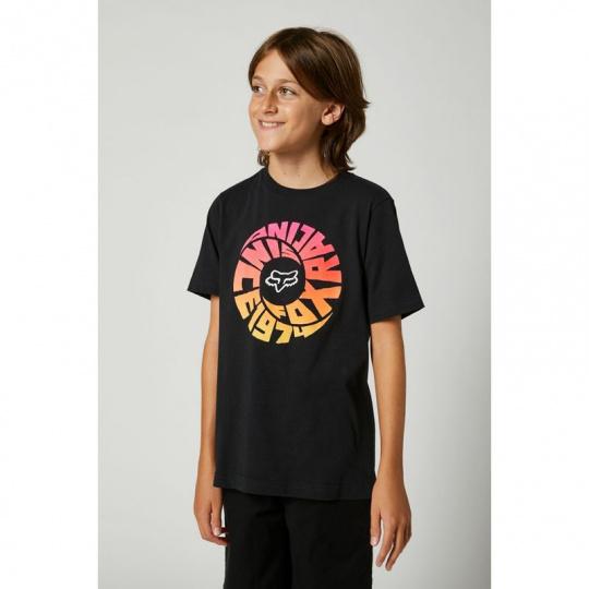 Dětské triko Fox Youth Revolver Ss Tee Black