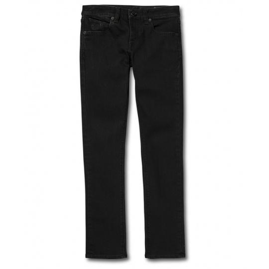 Dětské kalhoty Volcom 2X4 By Denim Black Out