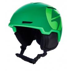 helma BLIZZARD Viper ski helmet, dark green matt/bright green matt