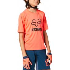 Dětský dres Fox Yth Ranger Ss Jersey Atomic Punch