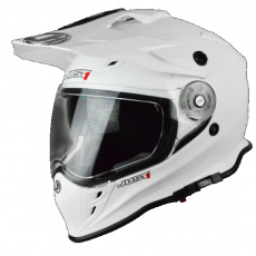 Moto přilba JUST1 J34 solid bílá