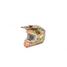 kšilt na přilbu FLY Kinetic Jungle - FLY RACING - USA (oranžová/zelená)