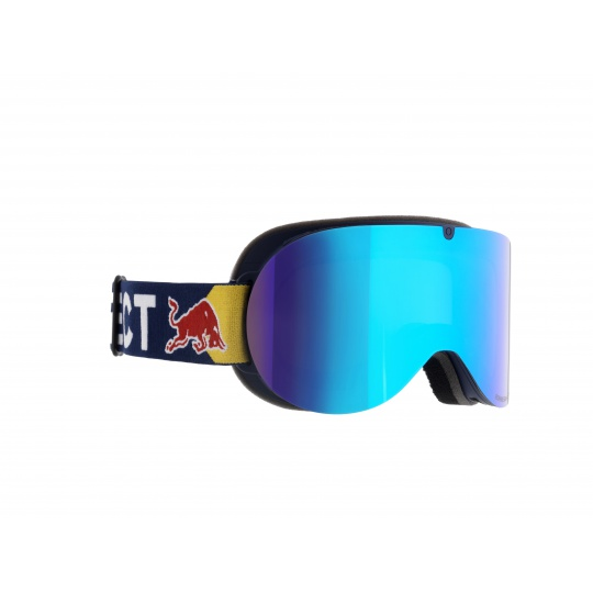 lyžařské brýle RED BULL SPECT Goggles, BONNIE-002, matt olive green frame/olive green headband, lens: yellow snow CAT2