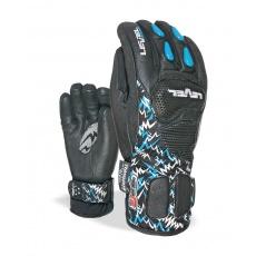 Dětské rukavice Level SQ JR CF Black 7 Jr