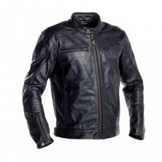 Moto bunda RICHA NORMANDIE kožená černá - nadměrná velikost