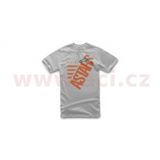 triko BIGUN TEE, ALPINESTARS, dětské (stříbrné)