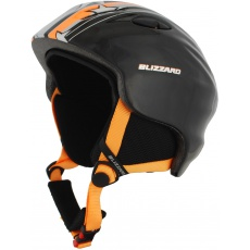 helma BLIZZARD Magnum ski helmet junior, orange star shiny